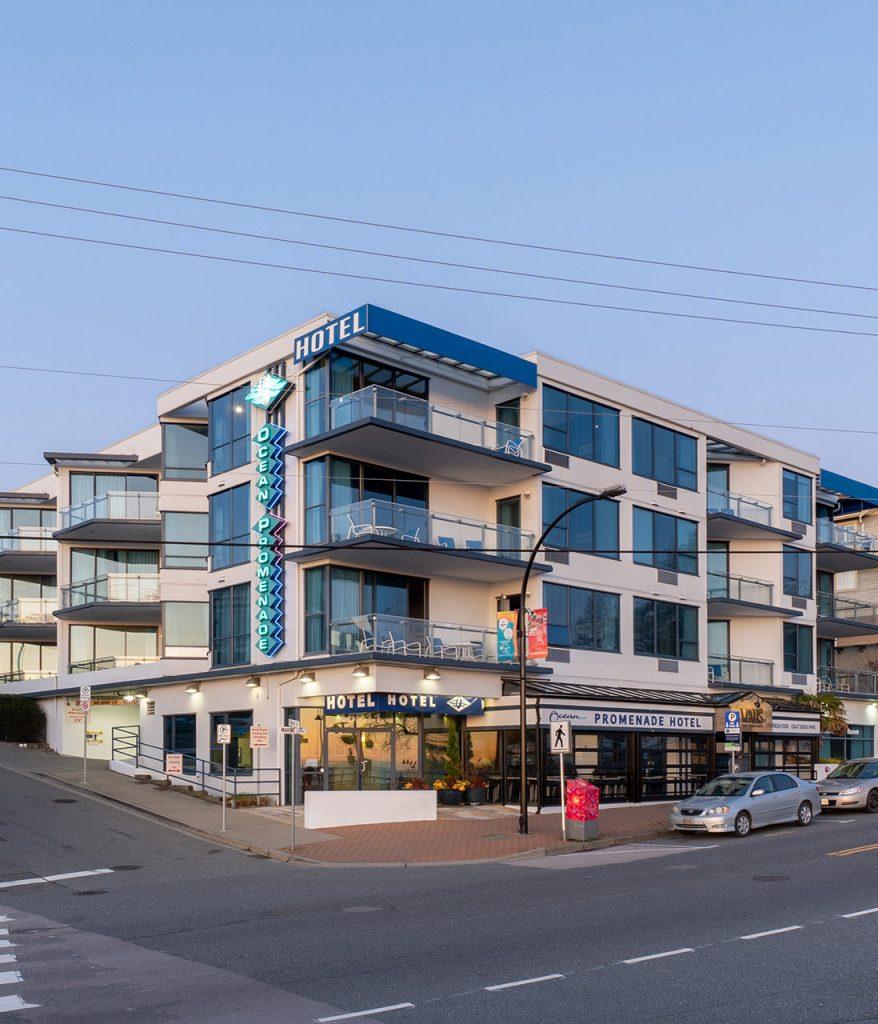 Ocean Promenade Hotel Exterior
